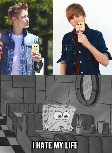 funny-Justin-Bieber-SpongeBob-popsicle