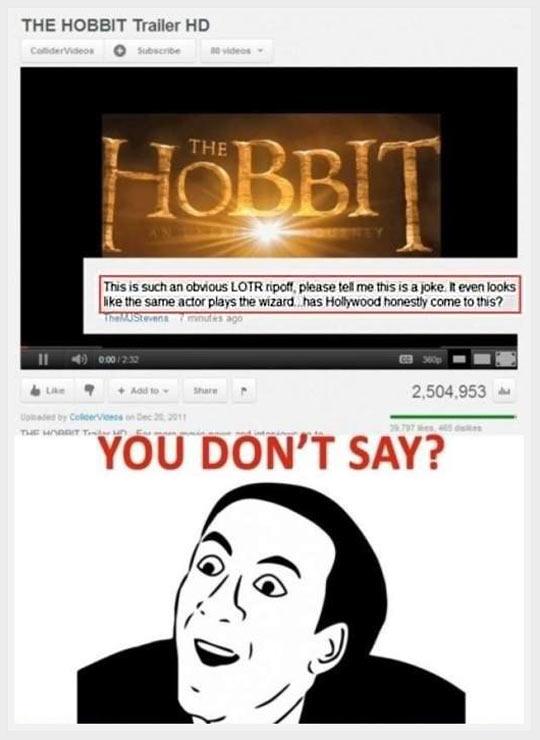 Internet people…