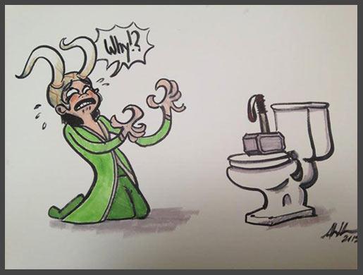Thor's worst prank…
