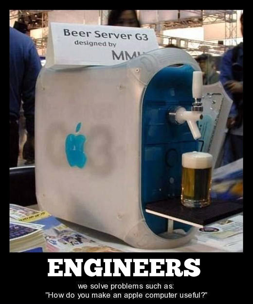 Engineers solve problems…