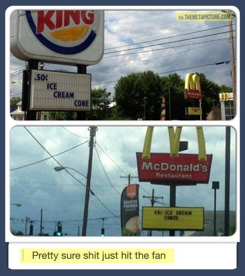 funny-McDonalds-Burger-billboard-cone