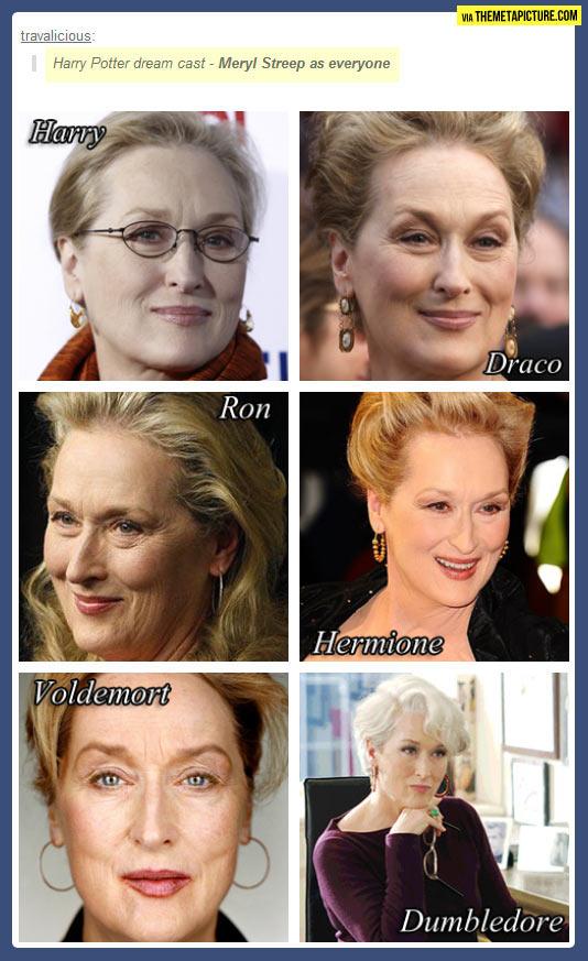 Harry Potter dream cast…