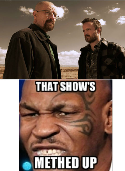 Mike Tyson Reviews Breaking Bad…