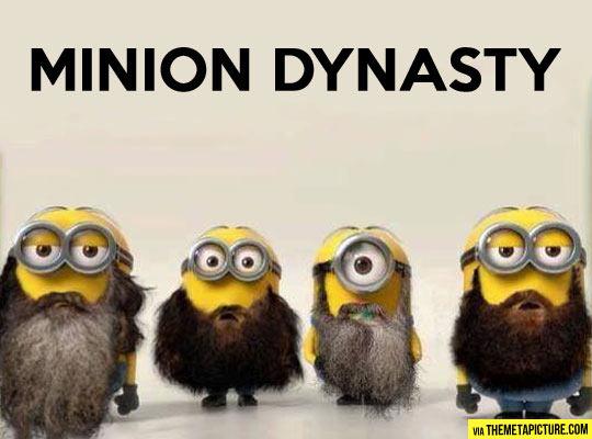 Minion Dynasty…