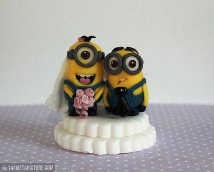 Minion wedding…