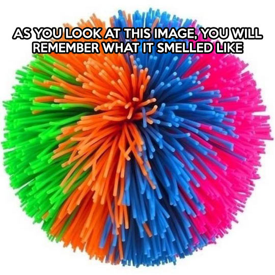 The smell of my childhood…