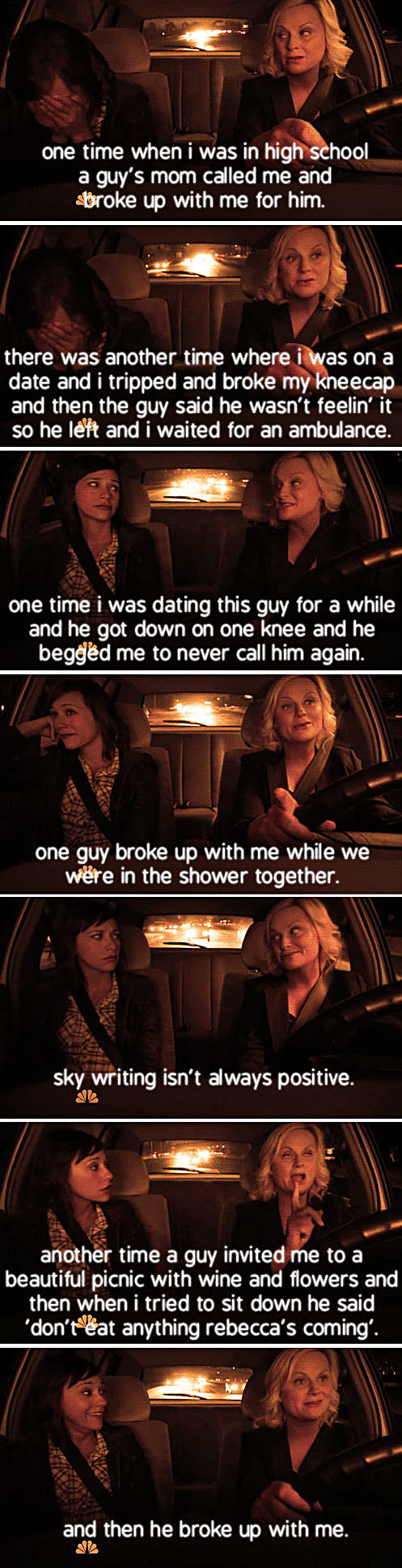 Leslie Knope's Breakups…