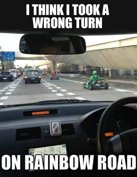 The wrong turn…