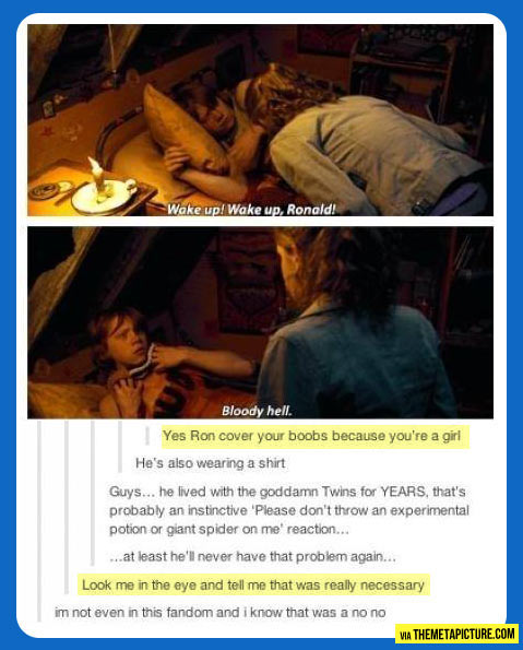 You don't make sense Ron…