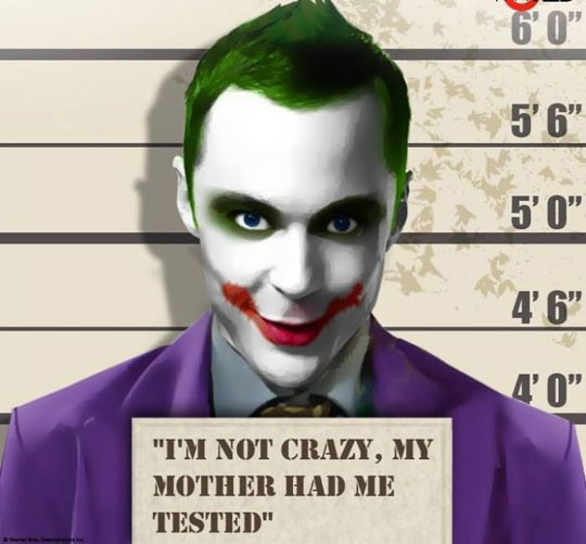 Sheldon's dark side…