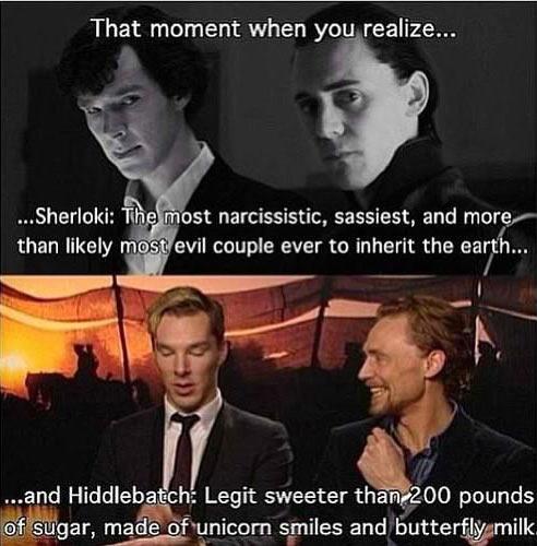 Sherloki vs. Hiddlebatch…