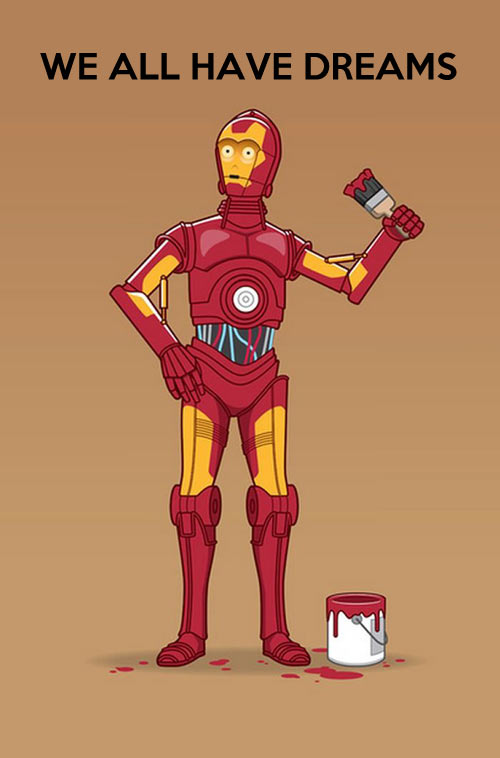 funny-Star-Wars-C3PO-painting