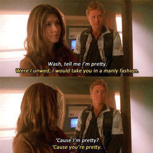 Tell me I'm pretty…