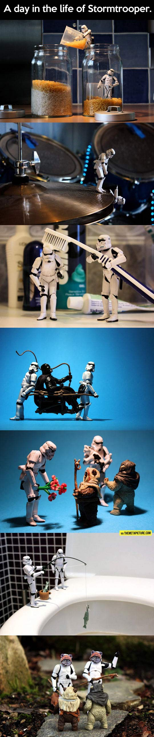 The life of Stormtrooper...