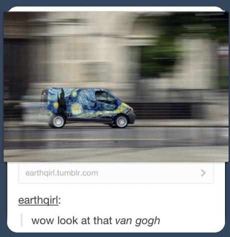 Look at that Van…