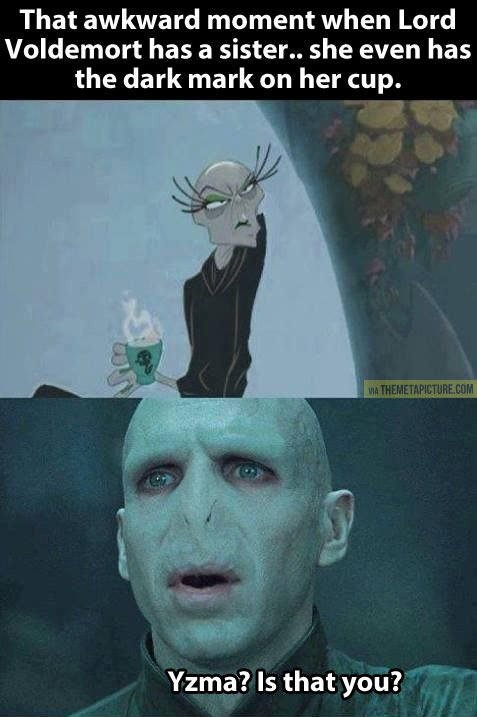 Voldemort's sister…