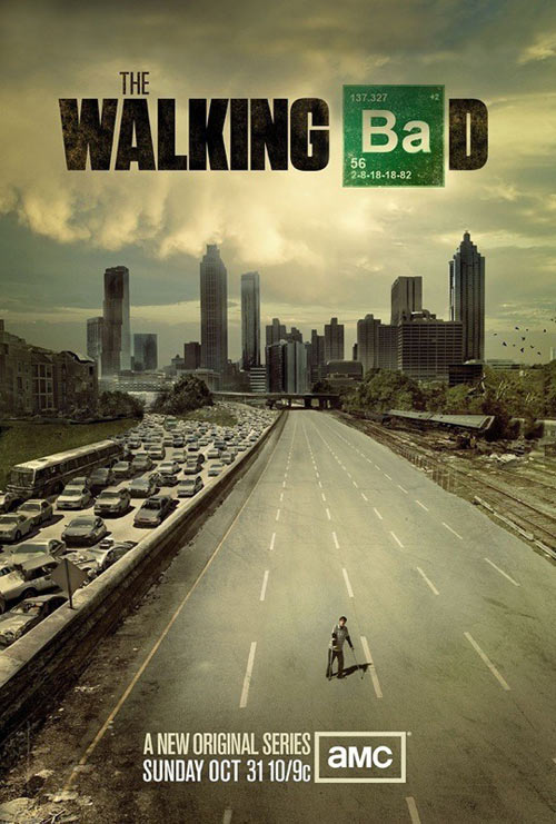 The walking bad…