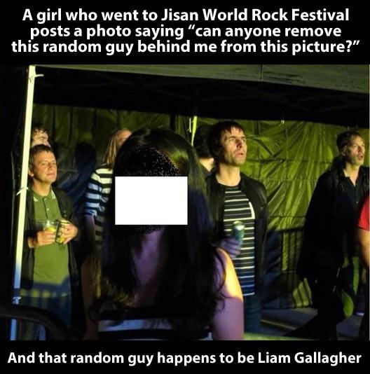 Remove the random guy…