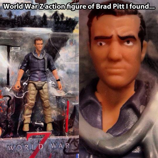 Brad Pitt's action figure…