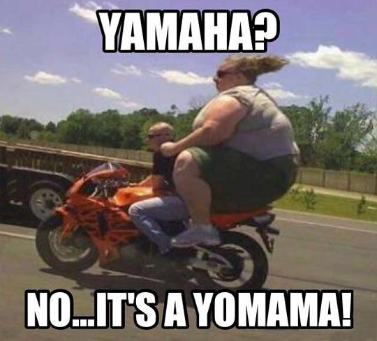 funny-Yamaha-fat-woman-motorbike