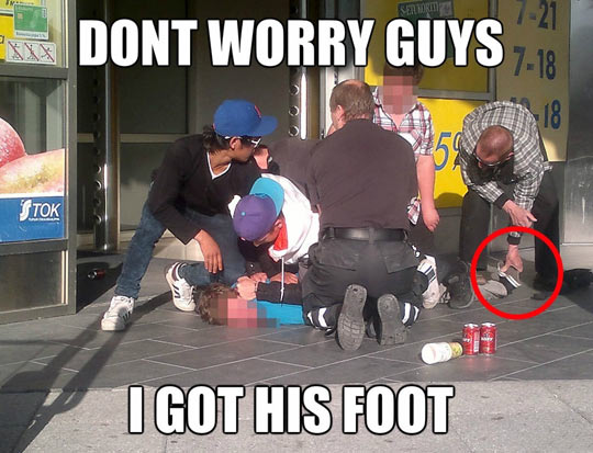 funny-arrested-guy-shoe-foot