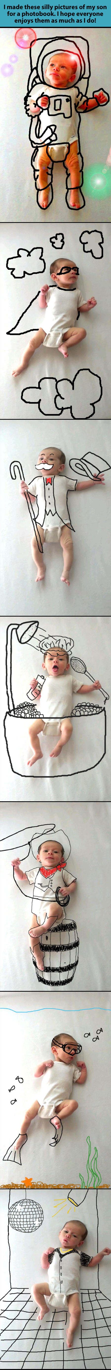 funny-baby-picture-drawing-astronaut