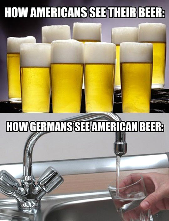 funny-beer-Americans-Germans-water