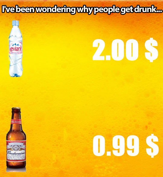 Why people get drunk…