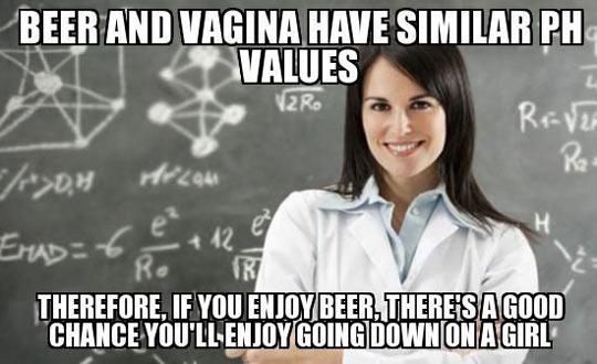 If you enjoy beer…