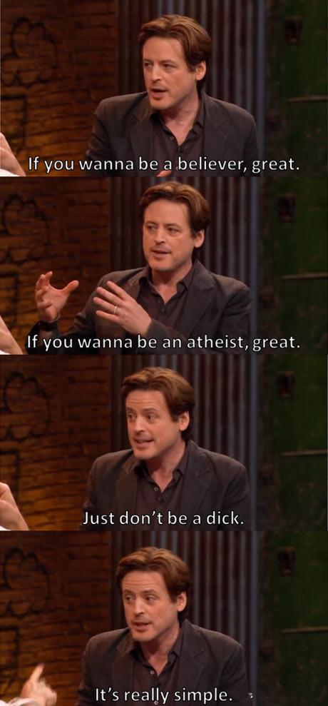 John Fugelsang on religion…