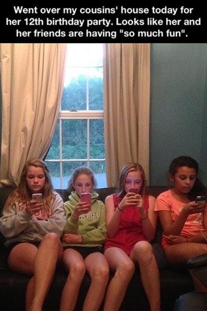 Kids having so much fun…