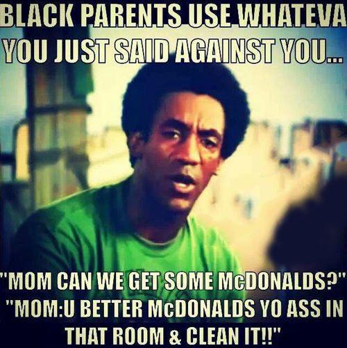 Black parents…