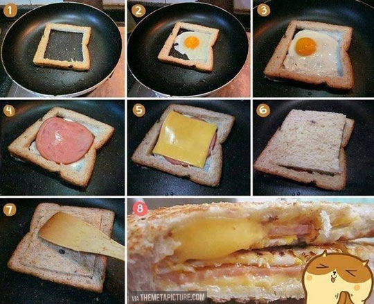 The tastiest sandwich you'll ever eat…