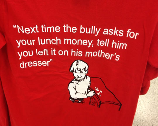 Next time you see a bully…