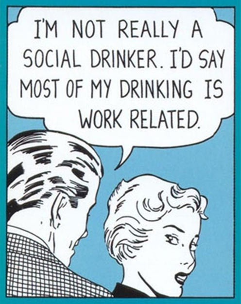 How my drinking works…