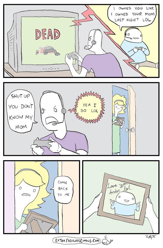 funny-cartoon-online-gaming-mom