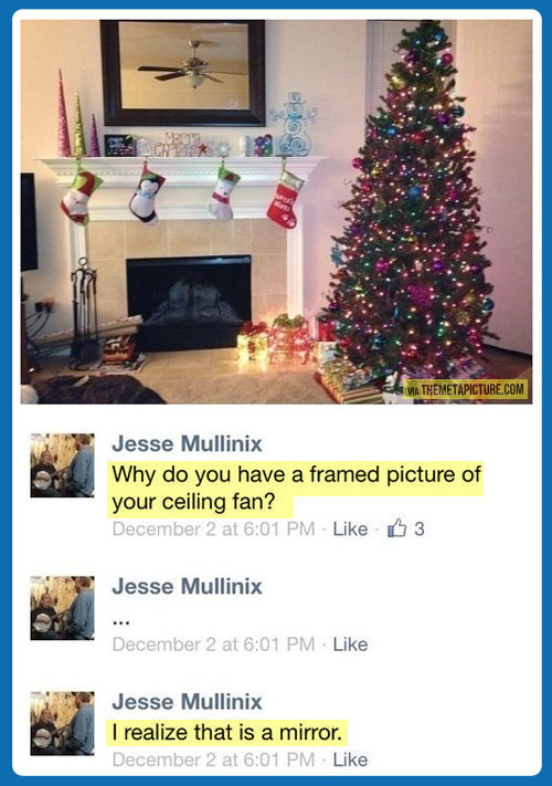 Clever people on Facebook…