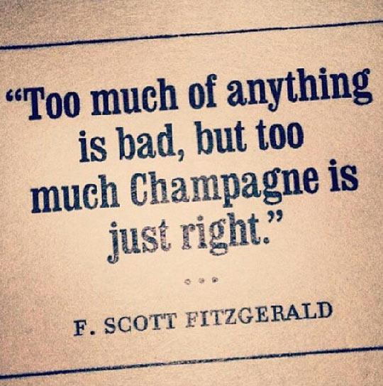 funny-champagne-quote-Scot-Fitzgerald