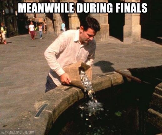 funny-coin-fountain-finals-exams