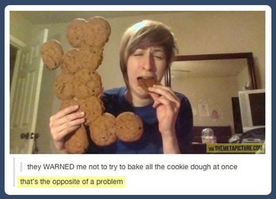 The best way to eat cookies…