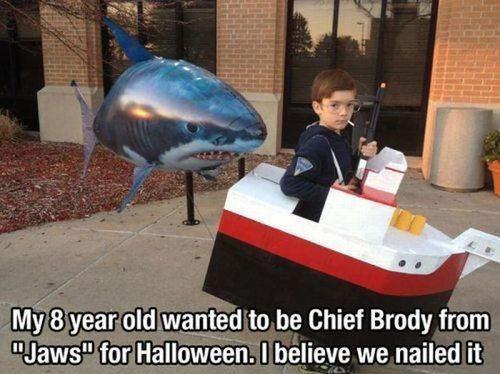 Jaws Halloween costume…