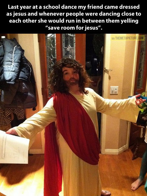 Save room for Jesus…