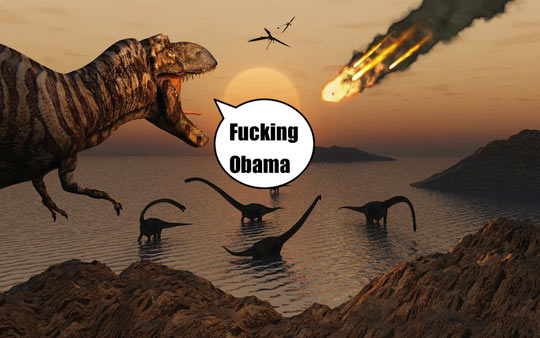 funny-dinosaur-blaming-Obama-world-end