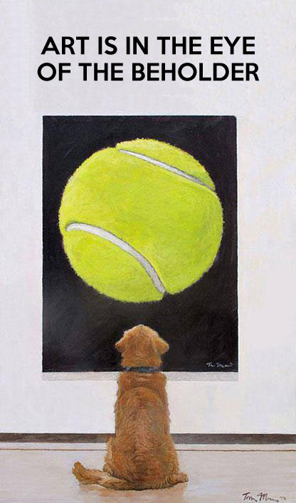 funny-dog-ball-painting