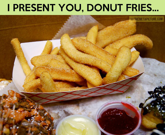 funny-donut-fries-food