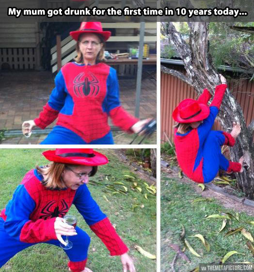 funny-drunk-mother-Spiderman