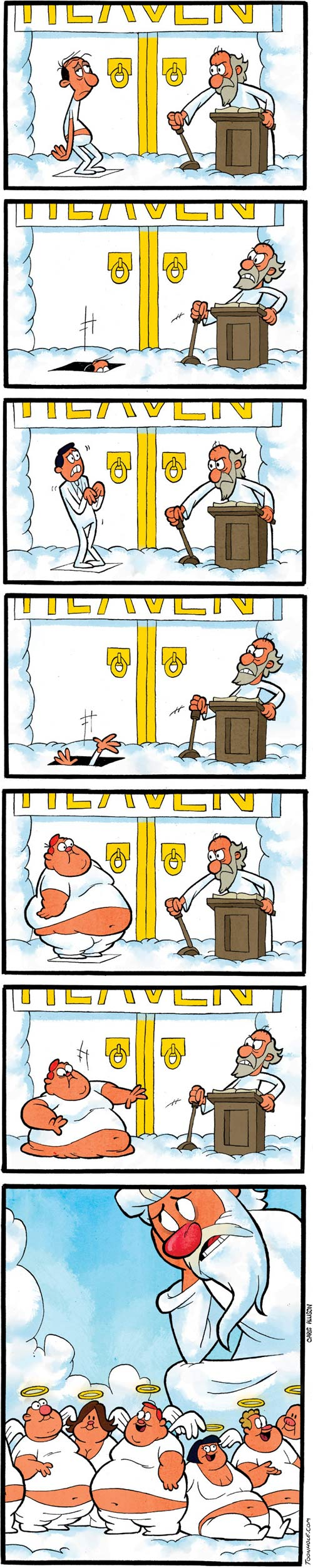 Getting into Heaven…