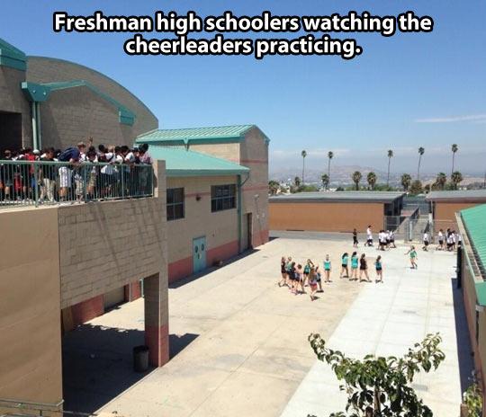 funny-freshman-high-schoolers-cheerleaders