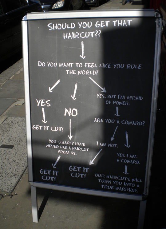 British barbers doing it right…