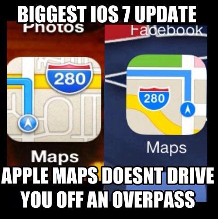 Biggest iOS 7 update…